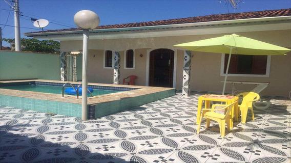 Casa Com 2 Dorms, Balneário Itaguai, Mongaguá - R$ 380 Mil, Cod: 4440 - V4440
