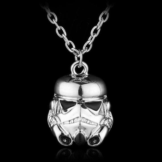 Colar De Pingente Star Wars Mini Darth Vader