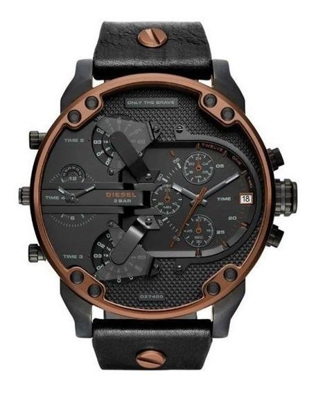Relógio Diesel Masculino Preto Dz7400/2pn