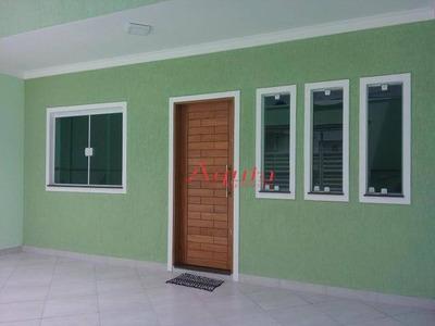 Sobrado Residencial À Venda, Vila Alto De Santo André, Santo André. - So0936