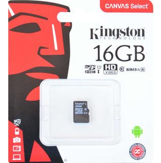 Cartão De Memória Kingston Microsd 16gb Clas10 - Barato