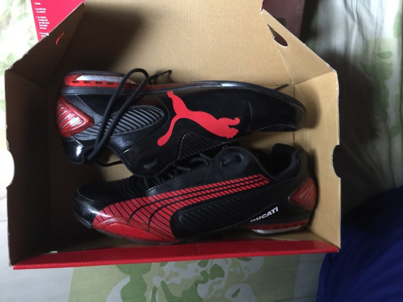 Zapatos Pumas Testastretta 3 Ducati Rojo/negro Talla 42 Usa