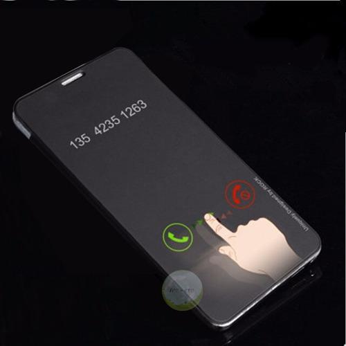 Flip Cover Rock S6 Edge Samsung, Edge Plus Clear View