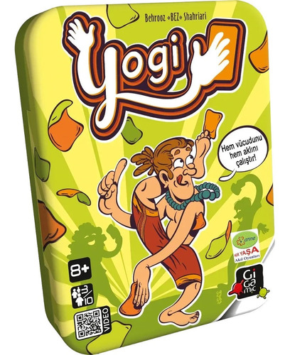 Juego Mesa Yogi Original Maldón Juego Cartas Poses Torcidas