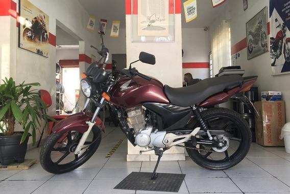 Honda Cg 150 Fan Esdi Vinho 2012