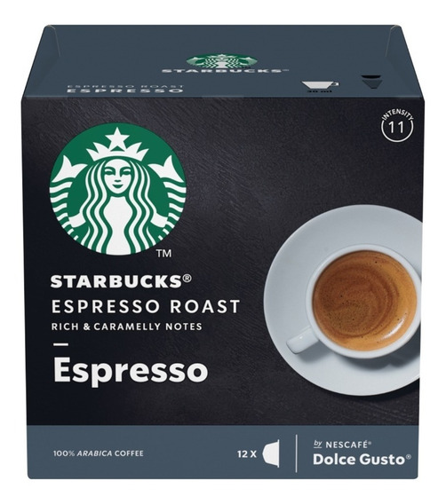 Starbucks Espresso Roast Cápsulas Dolce Gusto Oficial