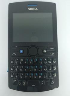 Nokia Asha 205 Dual Azul Com Defeito Sem Garantia