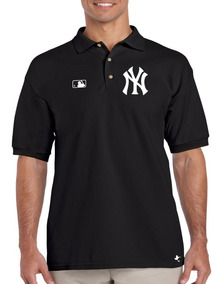 Playera Polo Yankees Nueva York M-01 By Tigre Texano Designs