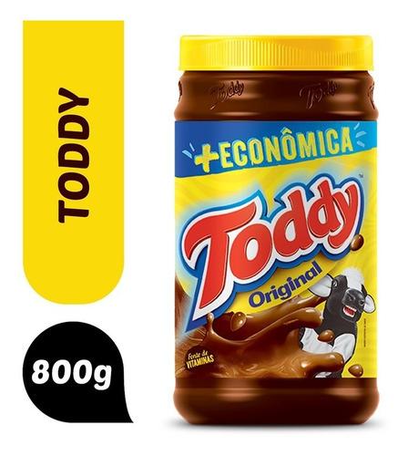 Achocolatado Em Pó Original Toddy Pote 800g + Econômica