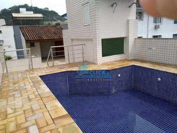 Casa Tiplex Para Venda E Locação, Campo Grande, Santos. - Ca0223