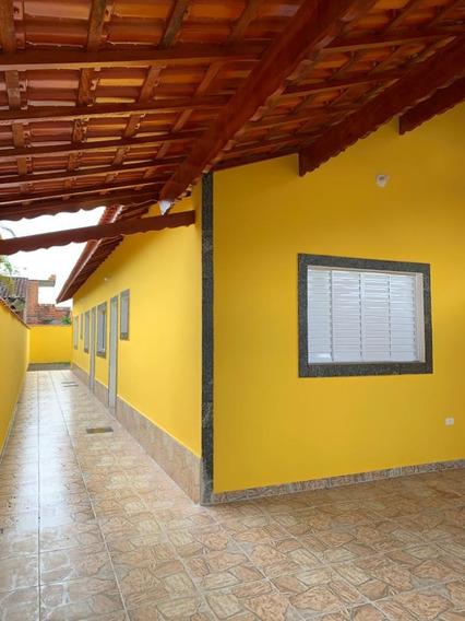 Casa Nova A 400 Metros Do Mar Em Mongaguá