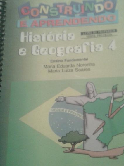 Construindo E Aprendendo História E Geografia 4 Livro D Prof