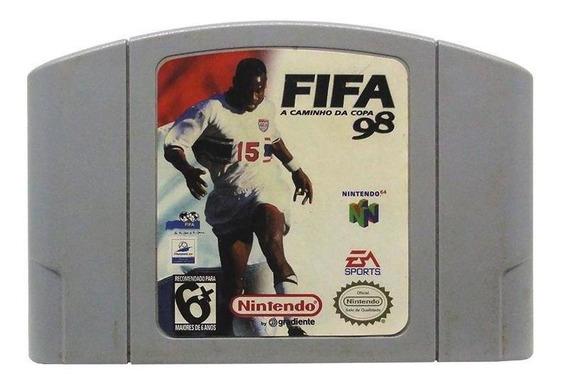 Fifa A Caminho Da Copa 98 N64 Mídia Física Pronta Entrega