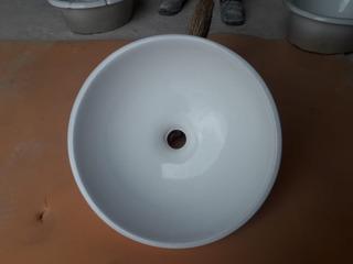 Bacha De Porcelana Para Baño De Embutir/apoyar C/detalles