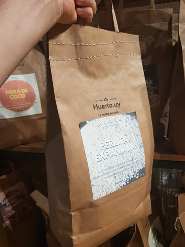 Perlita Expandida 5 Lts Bolsa Biodegradable Complemento