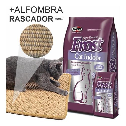 Imagen 1 de 3 de Ración Frost Gatos Cat Indoor 8,5k + Regalos, Envío Gratis*