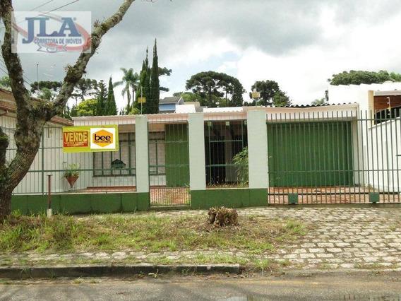 Casa Comercial Com 5 Amplas Salas À Venda, 230 M² De R$ 1.100.000 Por R$950.000!! - Santa Quitéria - Curitiba/pr - Ca0114