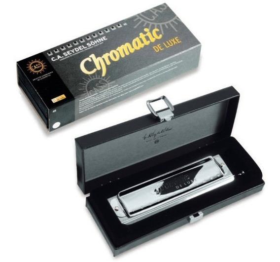 Armonica Seydel Cromatica De Luxe 48 Voces C Alemana