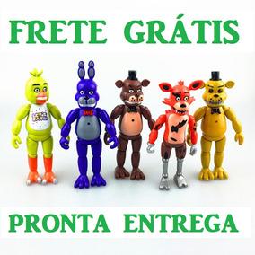 Brinquedo Infantil Kit Fnaf Five Night Freddy Boneco Criança