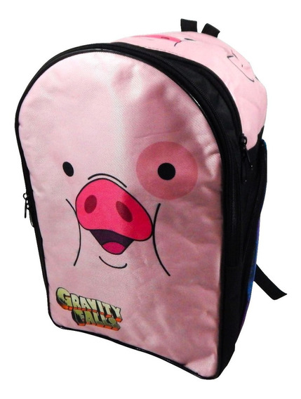 Gravity Falls Mochila Escolar Backpack Mabel Pato Waddles
