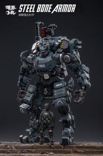 Joy Toy Steel Bone Armour (grey) 1/24