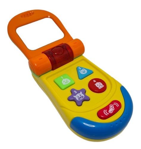 Imagen 1 de 7 de Teléfono Celular Musical Bebes Baby Shower