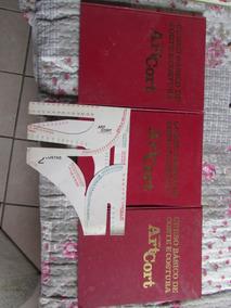 Curso Básico De Corte E Costura Método Artcort Col. 3 Vols