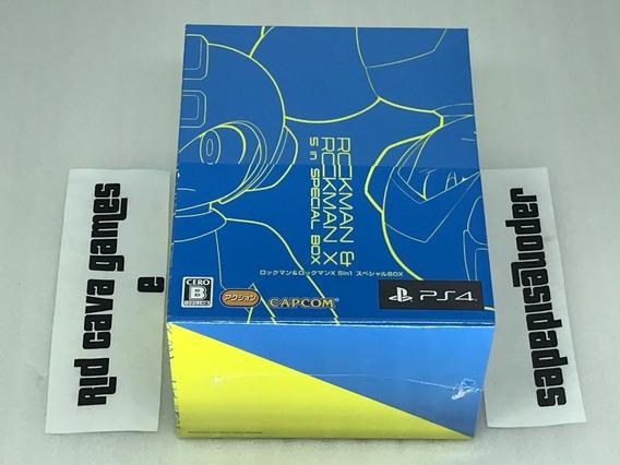 Rockman & Rockman X (mega Man) 5 In1 Special Box Limited Ps4