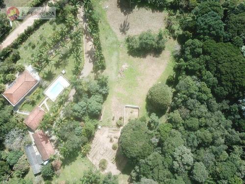 Chácara Com 4 Dormitórios À Venda, 46705 M² Por R$ 1.320.000 - Despezio - São Lourenço Da Serra/sp - Ch0063