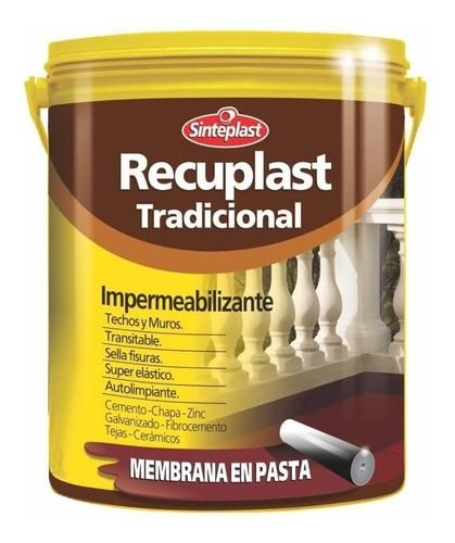 Recuplast Tradicional Membrana Pasta Techo/muro 10l Pintumm