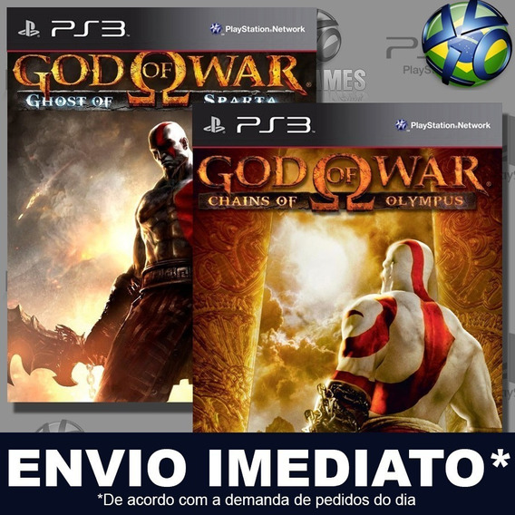God Of War Origins Collection Combo 2 Jogos Ps3 Psn Promoção