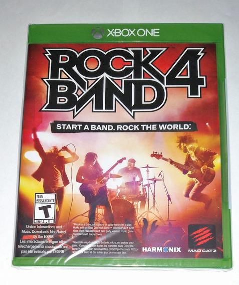 Rock Band 4 Midia Fisica Novo Selado Xbox One Frete Grátis