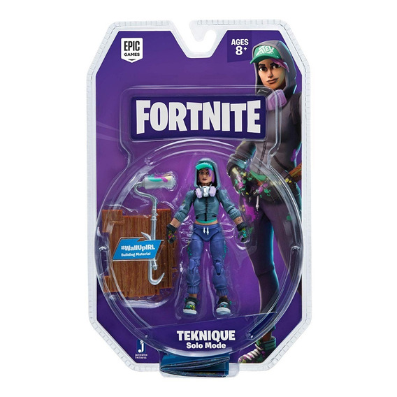 Figura De Açao Fortnite Teknique Solo Mode Sunny 2055
