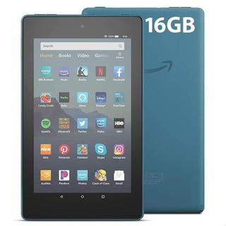 Tablet Amazon Fire Hd 7 Doble Camara Alexa 16gb Quad Core