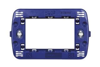 Soporte Living-light (universal) Plast.3 Mod.ln4703 Bticino