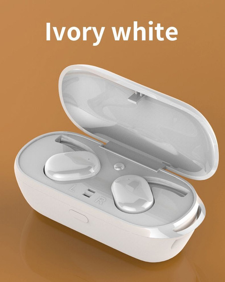 Fone De Ouvido Tws T2c Mini Bluetooth Branco Controle Gestos