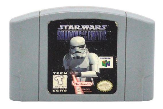 Star Wars Shadow Of The Empire N64 Mídia Física