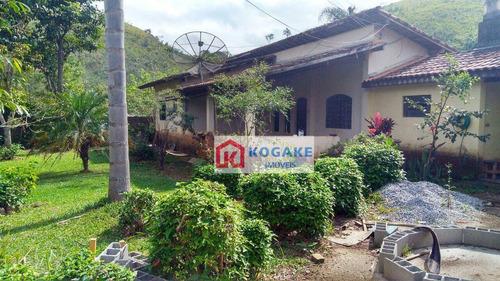 Chácara Com 4 Dormitórios À Venda, 2000 M² Por R$ 420.000,00 - Buquirinha Ii - São José Dos Campos/sp - Ch0084