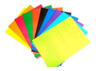 Carton Paja 1/8 X 10 Unidades Colores Surtidos - Escolar