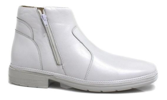 Bota Zariff Shoes Linha Branca Branco 4904