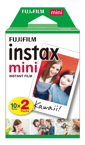 Filme Instax Mini 7s 8 90 - 20 Fotos No Total