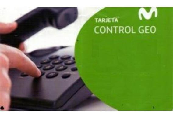 Tarjeta Geo Control $100