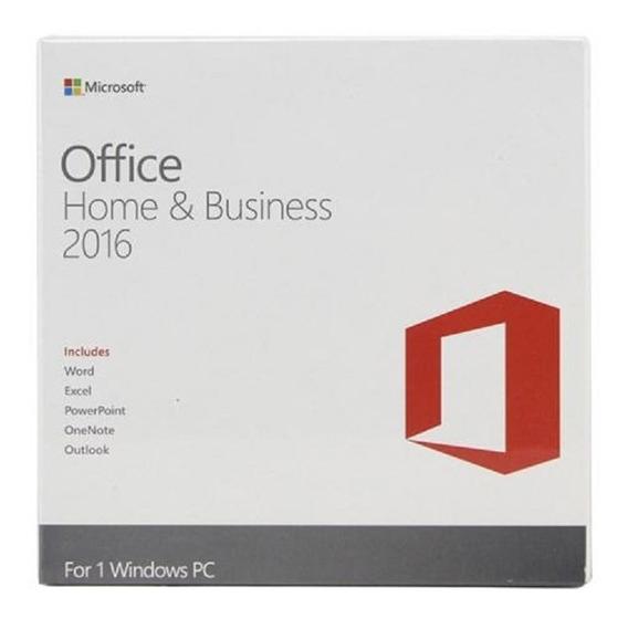 Microsoft Office Home Business 2016 Fpp Retail Box Perpetua
