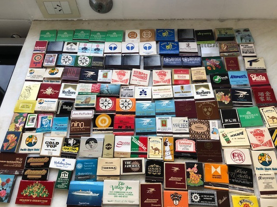 Coleccion 125 Cajitas/carteritas De Fosforos Antiguas