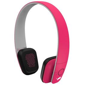 Fone Sem Fio Bluetooth / Headphone Vgh-b1 - Vigere Rosa