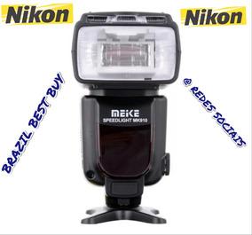 Flash Meike Mk-910 Conecta Nikon Sb900 Sb910 D5500 D750