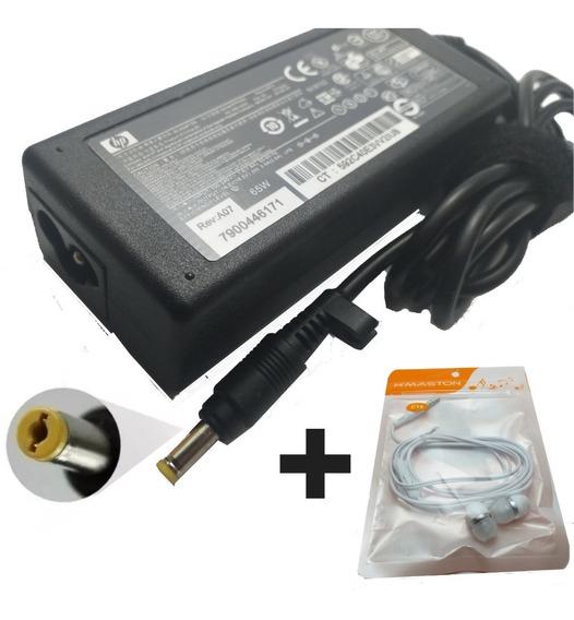 Carregador Para Notebook Hp Compaq - 18,5v 3.5a 65w + Brinde