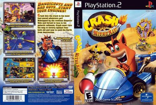 Crash Nitro Kart PS2