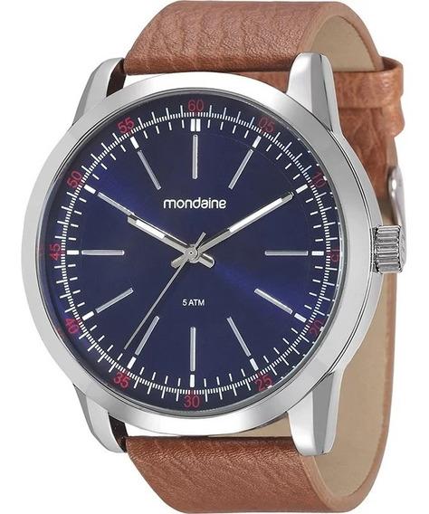 Relógio Mondaine Masculino Couro 94985g0mvnh4 Promoção