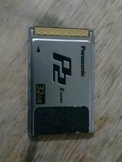 Cartão Panassonic P2 32g